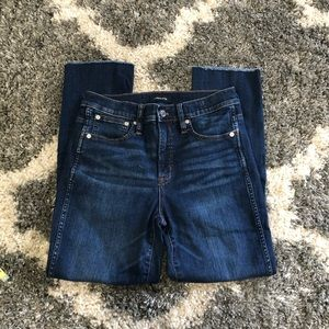 J. Crew • Vintage Straight High Rise Jeans
